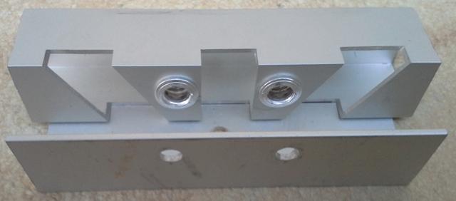 Fontänenhalterung 3-fach 30° für Taronic Systeme