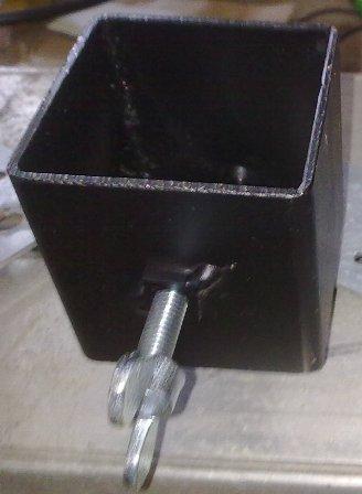 Halterung für Effekte bis 40mm Durchmesser rechteckig