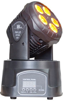 Mini Moving Head  5x RGBAW 15W